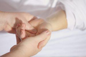 Voetreflexzonetherapie - hand - Reflexief